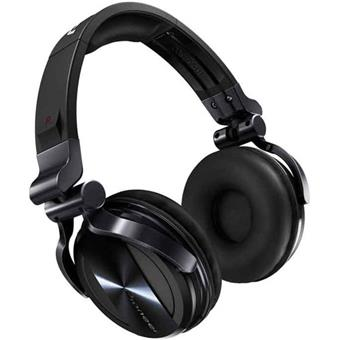 Pioneer HDJ1500K Black Chrome DJ headphones