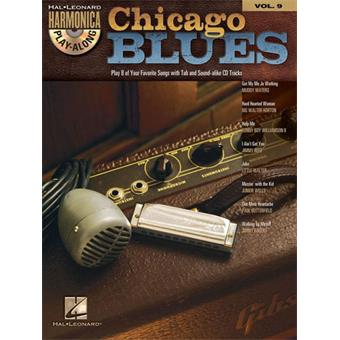 Hal Leonard Harmonica Play Along Volume 9 Chicago Blues bass/woodwind song book