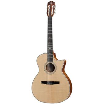 Taylor 414ce Nylon classical guitar with electronics