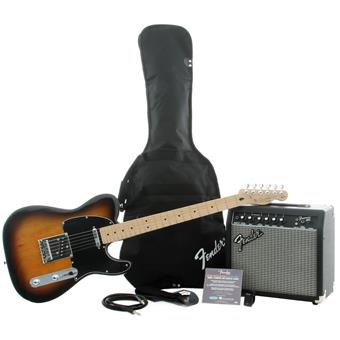 Squier Affinity Tele Pack 15G Black Sunburst