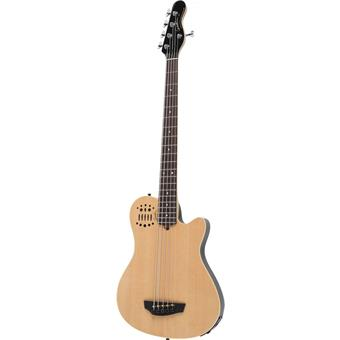 Godin A5 Fretted Synth Bass Natural 4 string bass guitar