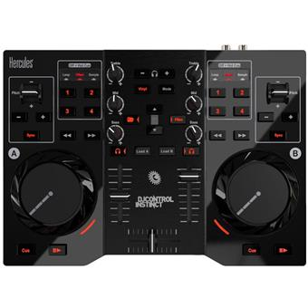 Hercules DJ Control Instinct DJ controller for various software