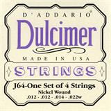 D'Addario J64 Nickel Dulcimer Strings
