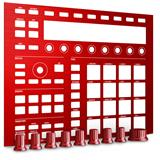 Native Instruments Maschine MK2 Custom Kit Dragon Red