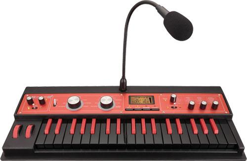 korg microkorg xl plus 10th anniversary black red keymusic. Black Bedroom Furniture Sets. Home Design Ideas