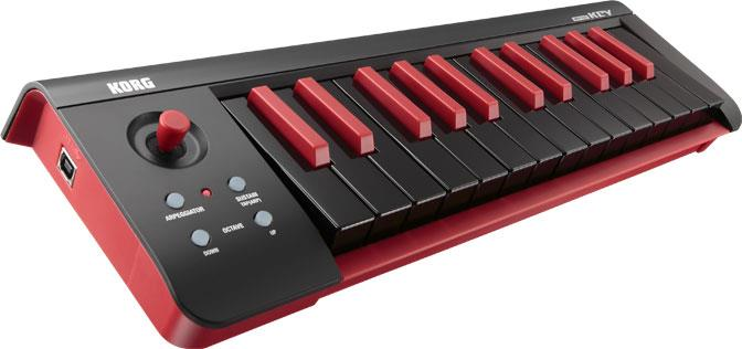 korg microkey 25 10th anniversary black red keymusic. Black Bedroom Furniture Sets. Home Design Ideas
