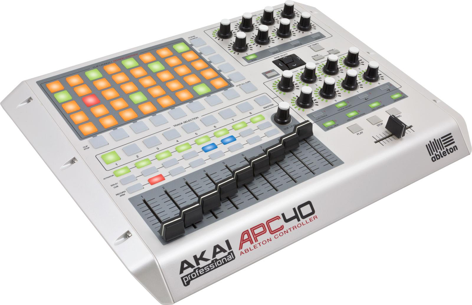 Akai APC40 Limited Edition White