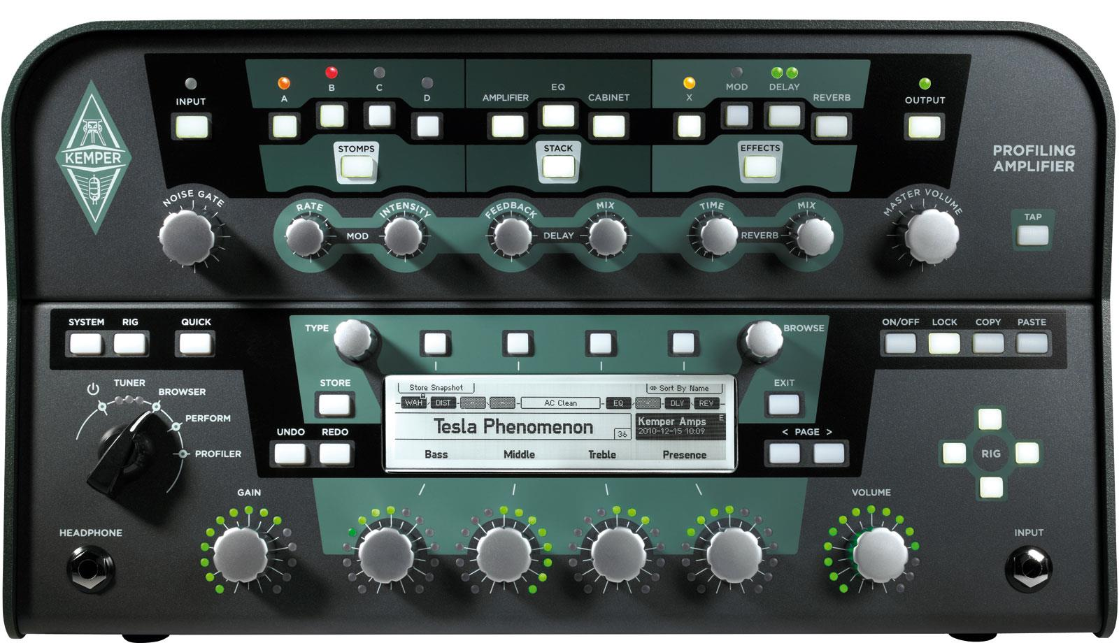 Kemper Profiling Amplifier Black Keymusic