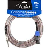 Fender California 16GA Speaker Cable Jack Speakon 7.5 Meter