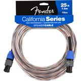 Fender California 16GA Speaker Cable Speakon 7.5 Meter