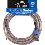 Fender California 14GA Speaker Cable Jack Speakon 15 Meter