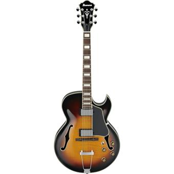 Ibanez AKJ95 Vintage Yellow Sunburst jazz guitar