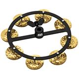 Meinl HTHH1B-BK Hihat Tambourines Hammered Brass Single Row