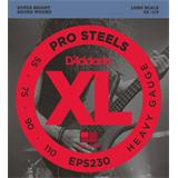 D'Addario EPS230 ProSteels Bass Heavy 55-110