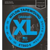 D'Addario ETB92-5 Tapewound 5-String Bass Medium 50-135