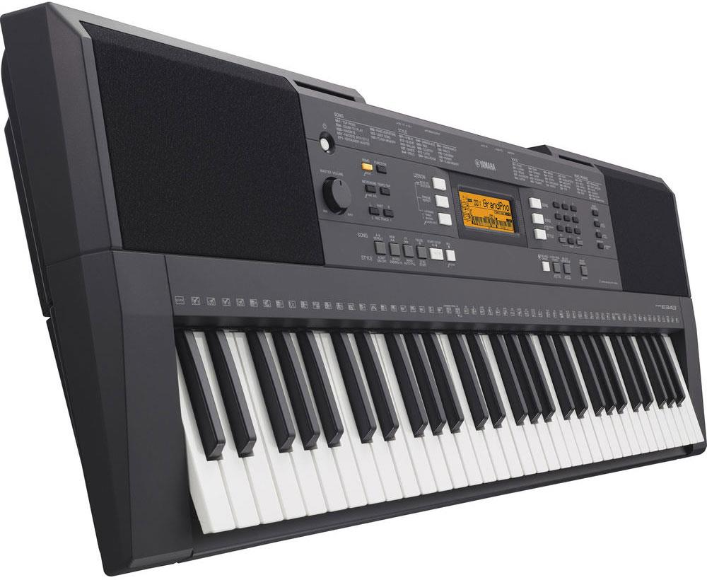 yamaha psr e343 black keymusic. Black Bedroom Furniture Sets. Home Design Ideas