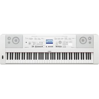 Yamaha DGX-650 White digital arranger piano