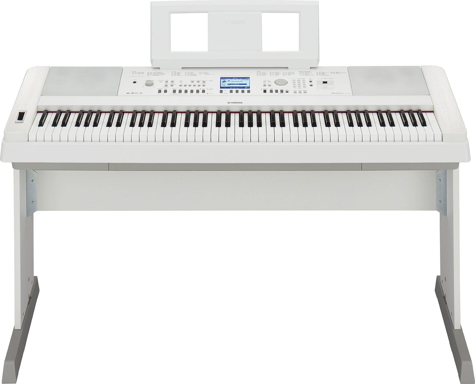 yamaha dgx 650 white keymusic. Black Bedroom Furniture Sets. Home Design Ideas