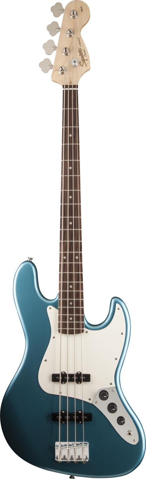 squier affinity jazz bass lake placid blue prchpg keymusic. Black Bedroom Furniture Sets. Home Design Ideas