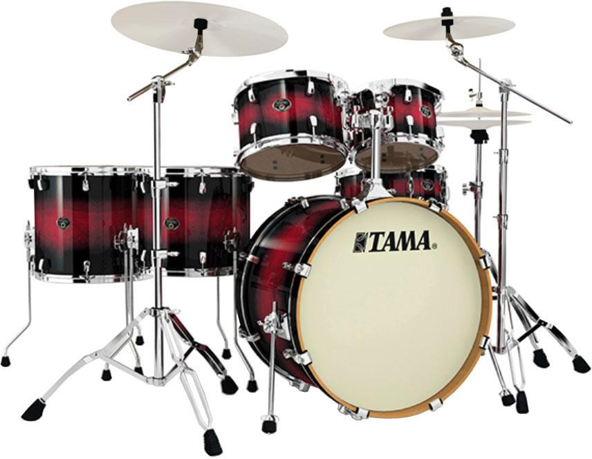 Tama Silverstar Vp62rs Transparent Red Burst Keymusic