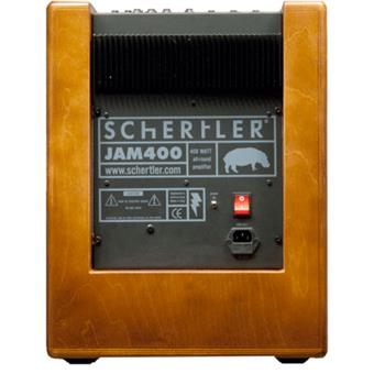 Schertler Jam 400 Wood acoustic guitar combo