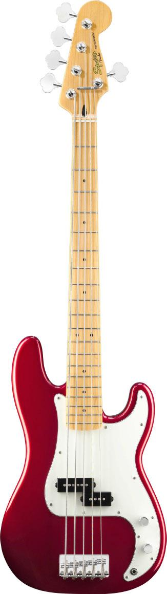 squier vintage modified precision bass v candy apple red keymusic. Black Bedroom Furniture Sets. Home Design Ideas