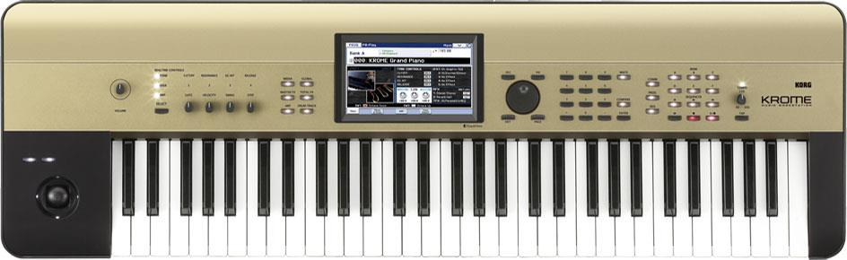 Korg Krome 61 Limited Edition Gold