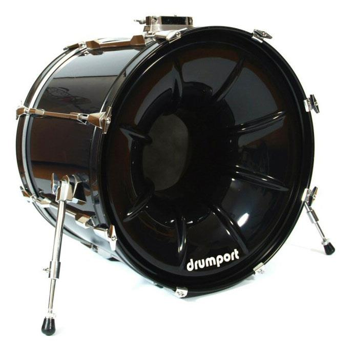 Drumport Black 20 Inch  Keymusic