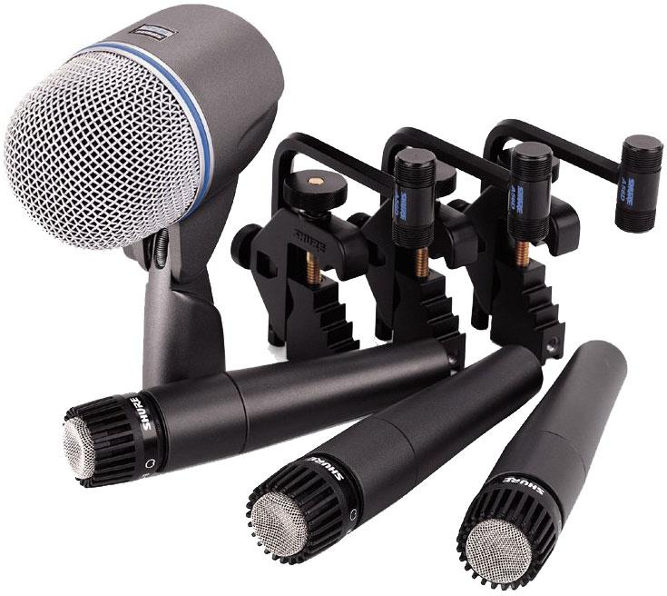 Mic Drum Set Shure : shure dmk5752 drum mic kit keymusic ~ Russianpoet.info Haus und Dekorationen