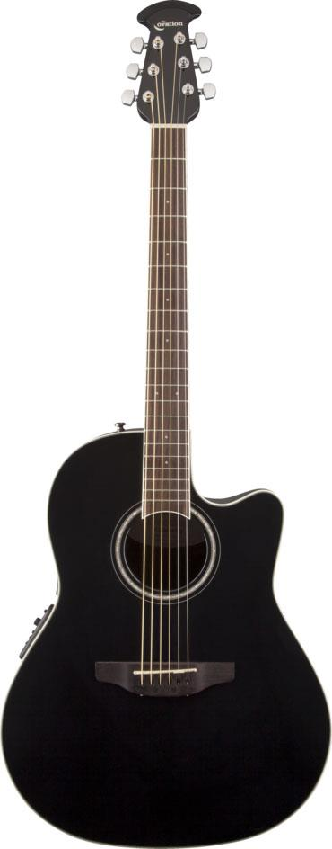 Ovation Celebrity Standard Mid-Depth Cutaway Acoustic ...
