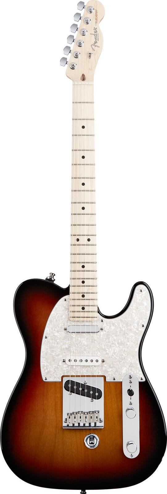 fender american nashville b bender telecaster 3 color sunburst keymusic. Black Bedroom Furniture Sets. Home Design Ideas