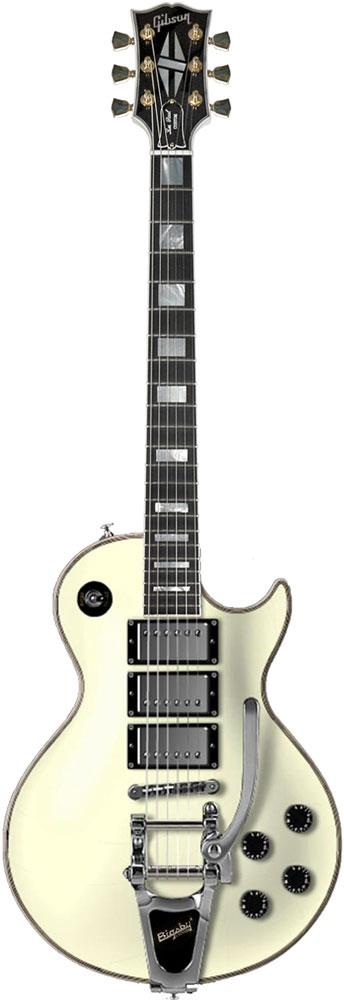 gibson les paul custom 3 pickup vos with bigsby keymusic. Black Bedroom Furniture Sets. Home Design Ideas