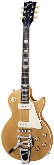gibson les paul traditional gold top p90 bigsby keymusic. Black Bedroom Furniture Sets. Home Design Ideas