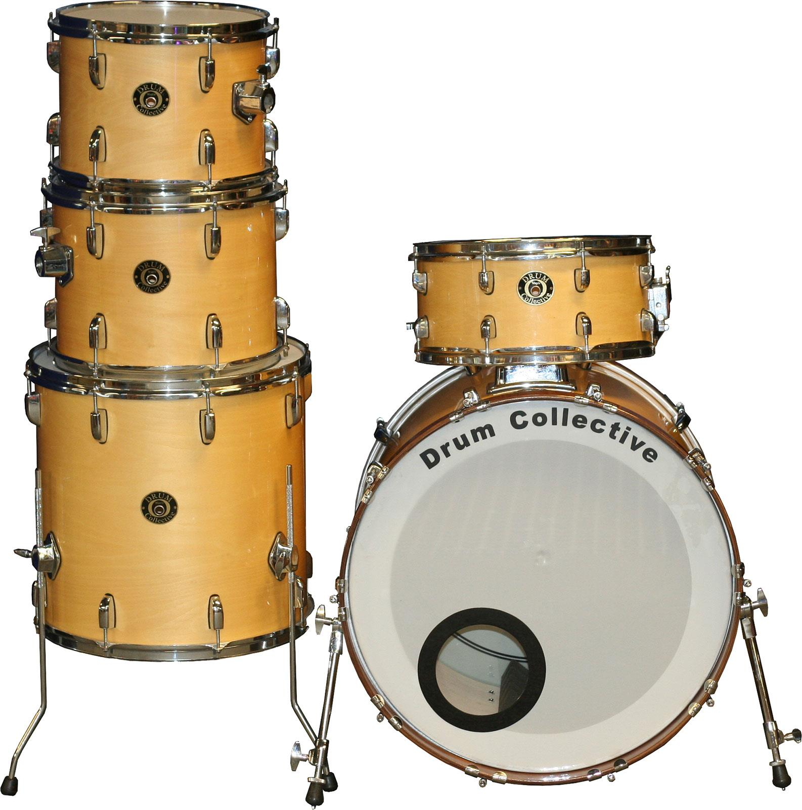Drum Collective Maple Series Gloss Natural Occasion