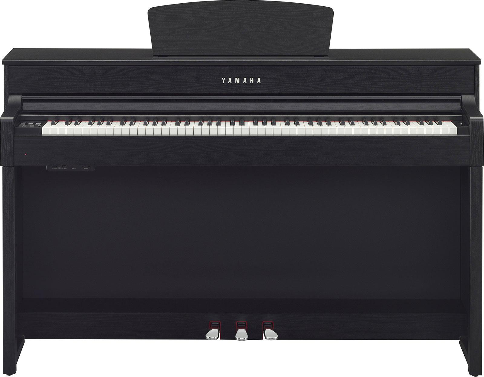 yamaha clp535b clavinova black walnut keymusic. Black Bedroom Furniture Sets. Home Design Ideas