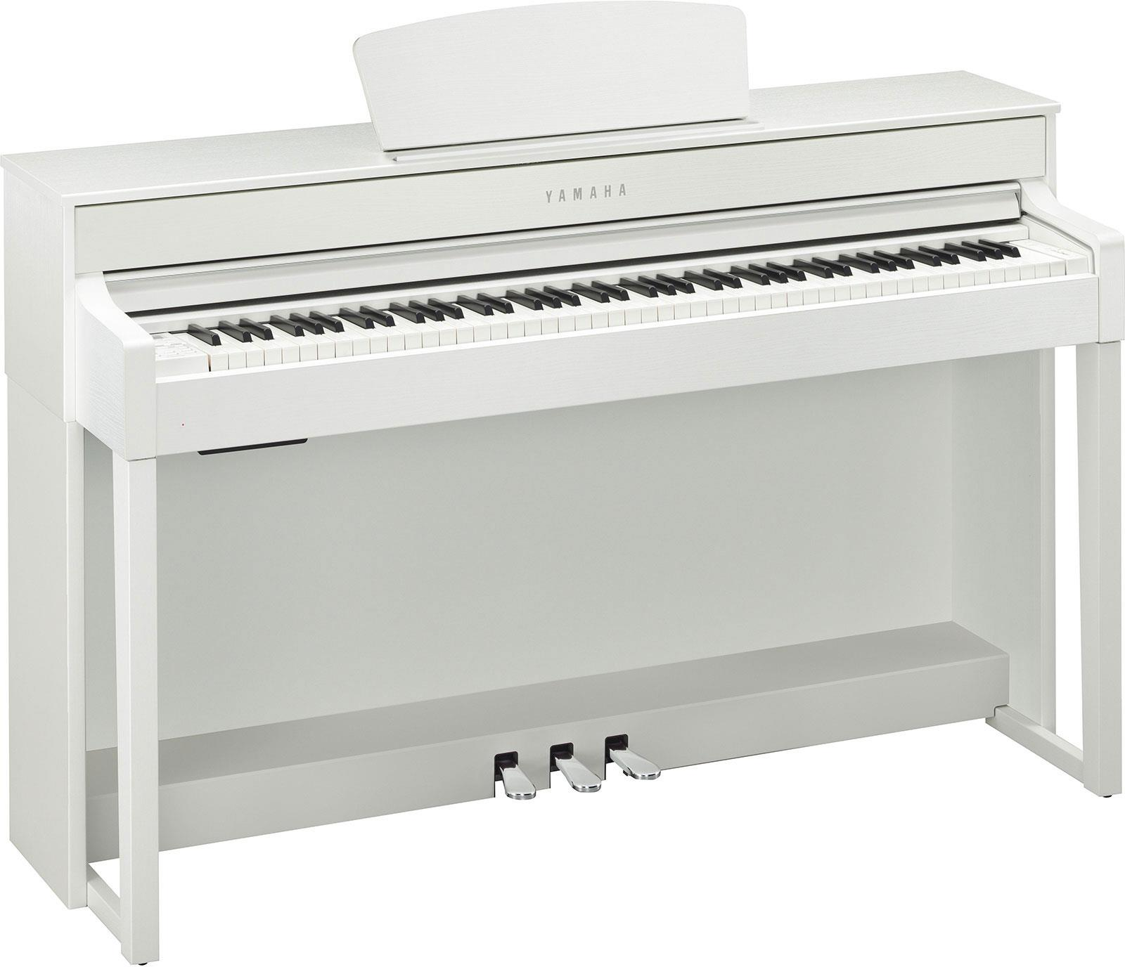 yamaha clp535wh clavinova white keymusic. Black Bedroom Furniture Sets. Home Design Ideas
