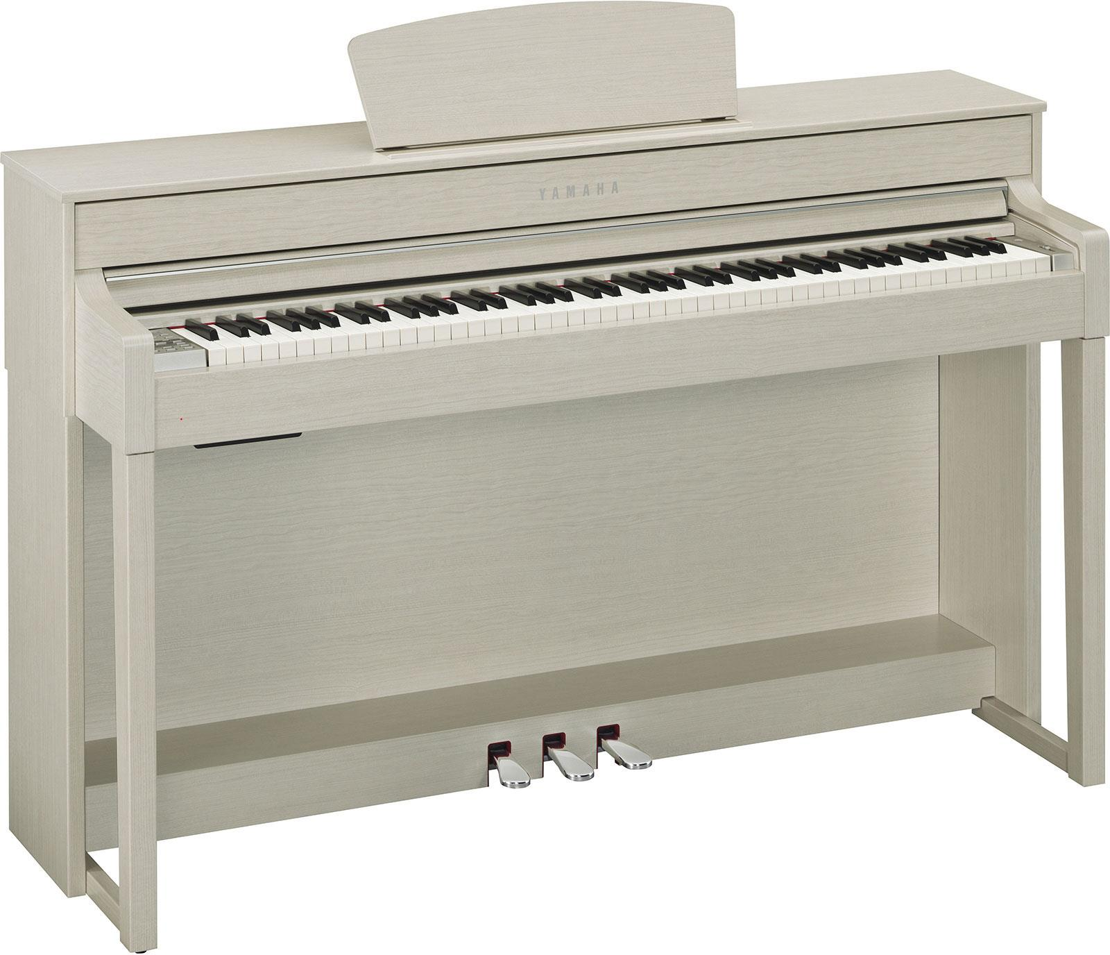yamaha clp535wa clavinova white ash keymusic. Black Bedroom Furniture Sets. Home Design Ideas