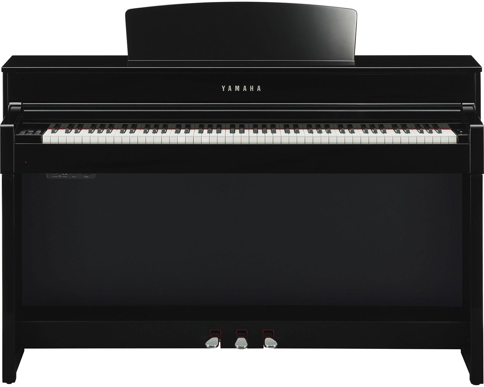 yamaha clp545pe clavinova polished ebony keymusic. Black Bedroom Furniture Sets. Home Design Ideas