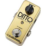 TC Electronic Ditto Deluxe Limited Gold Edition