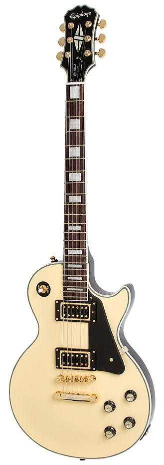 epiphone les paul custom blackback pro antique ivory keymusic. Black Bedroom Furniture Sets. Home Design Ideas