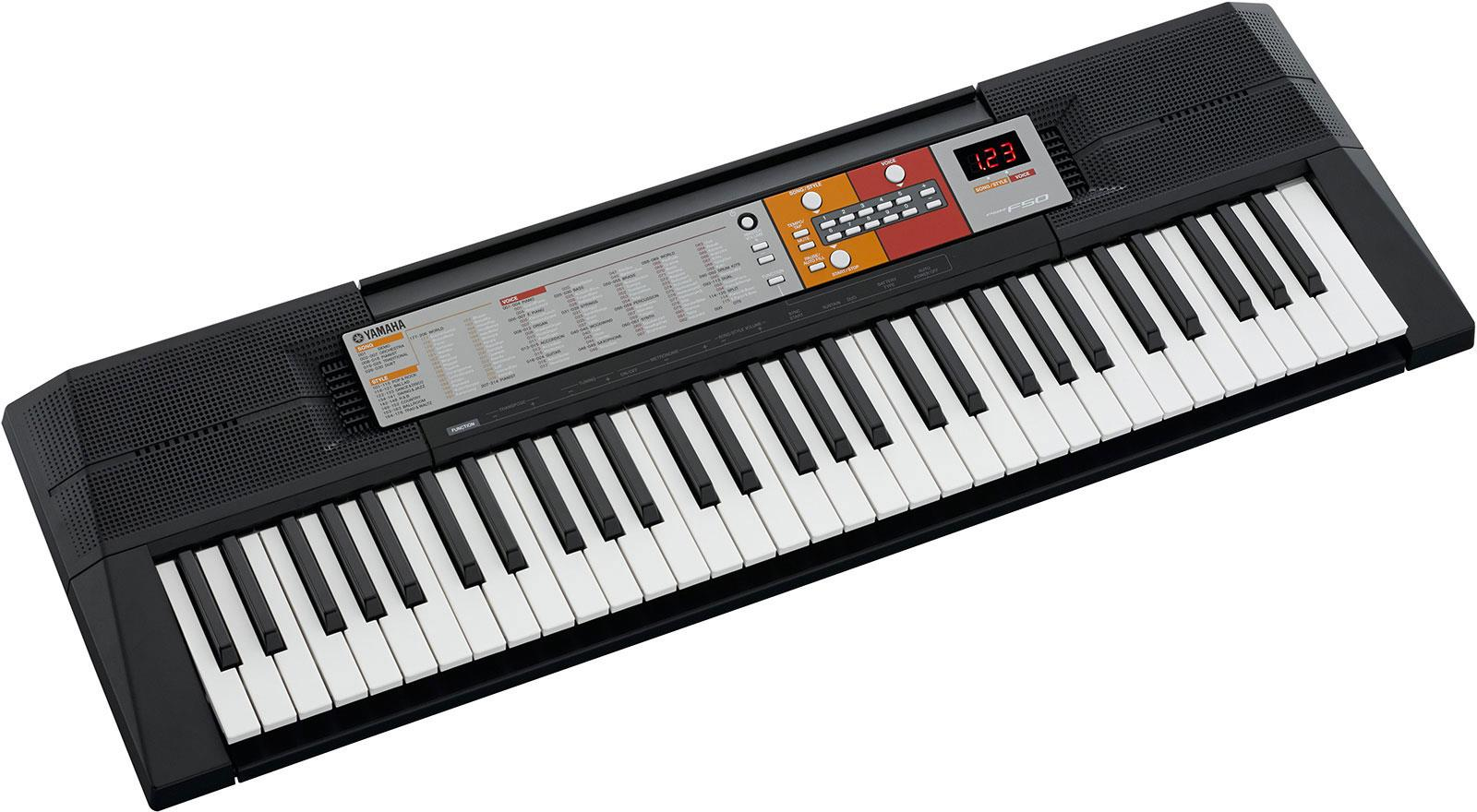 yamaha psr f50 keymusic. Black Bedroom Furniture Sets. Home Design Ideas