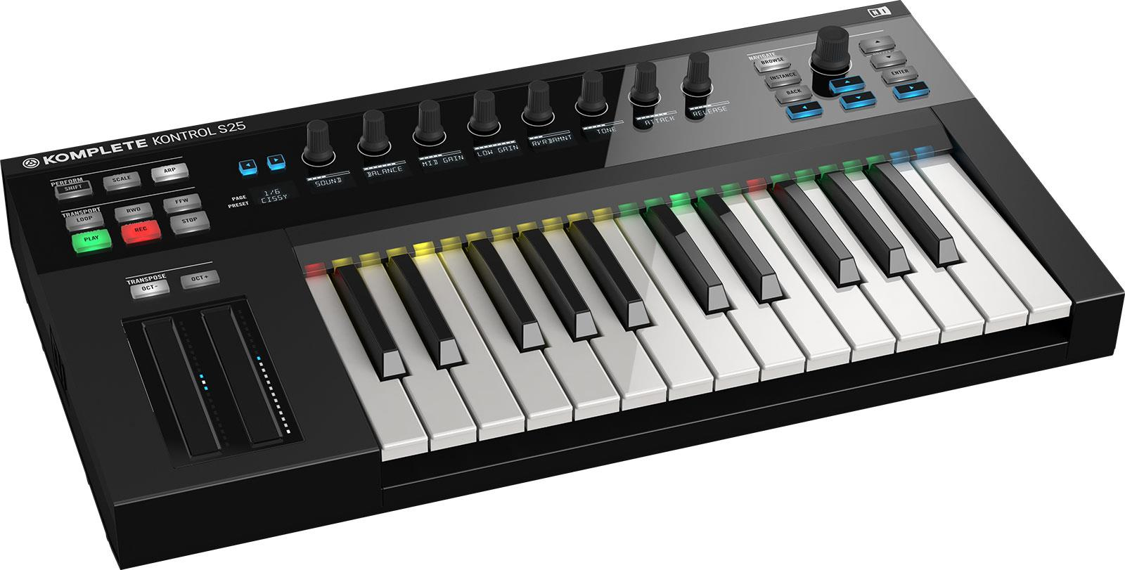 Native Instruments Komplete Kontrol M32. Music Life - Dj ...
