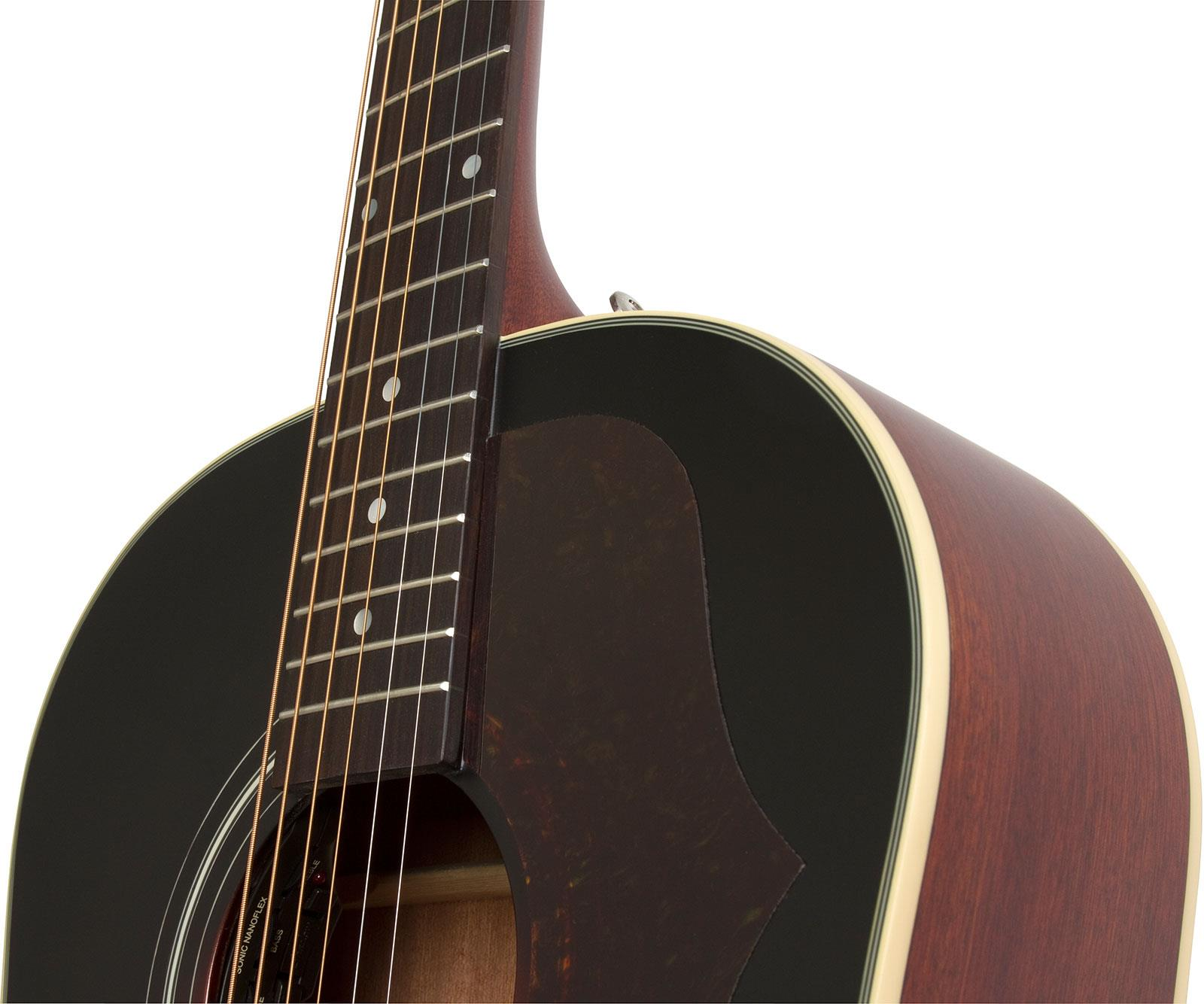 epiphone aj 45me masterbilt vintage sunburst satin keymusic. Black Bedroom Furniture Sets. Home Design Ideas