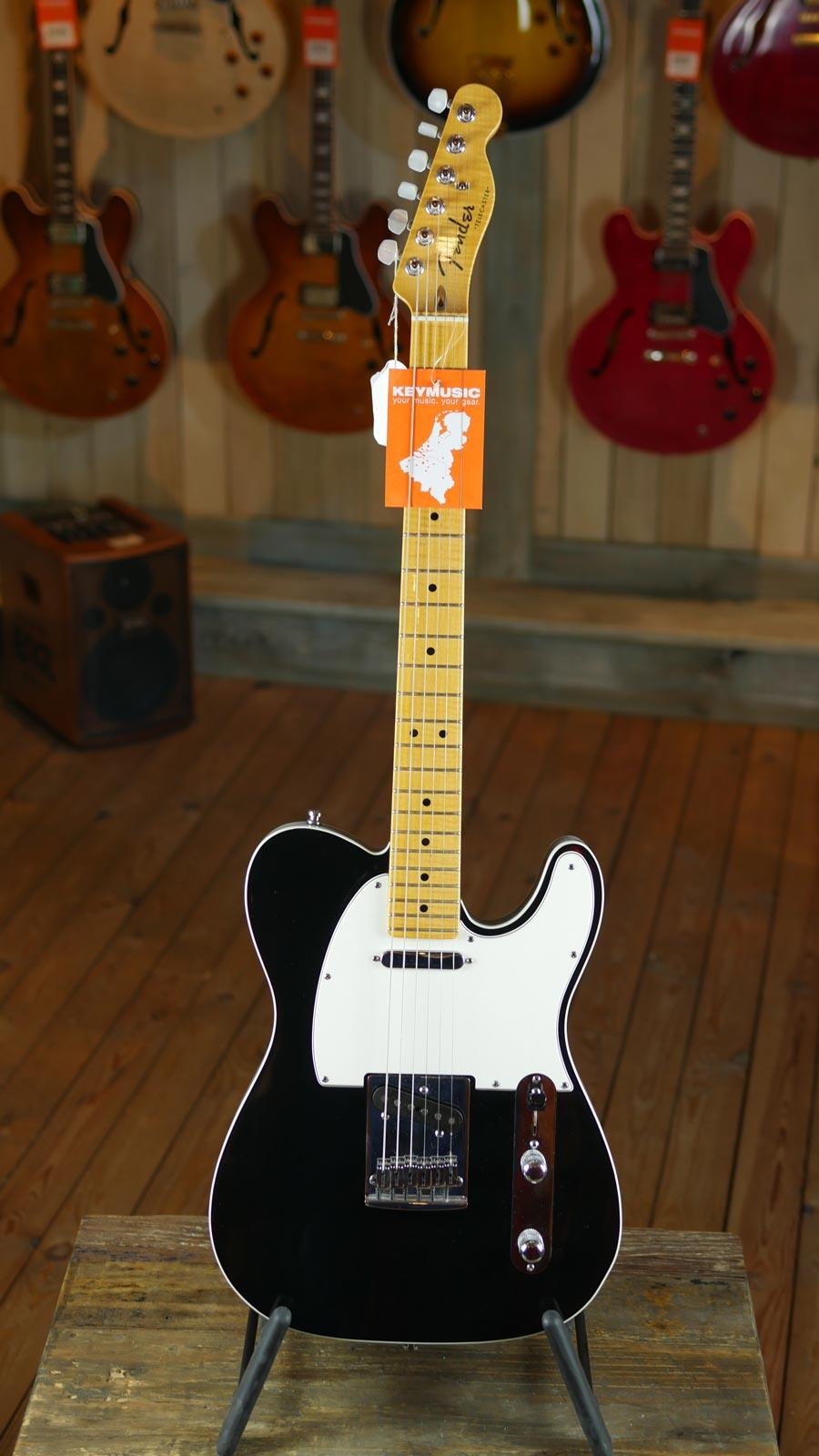 Fender Custom Shop American Custom Telecaster Mn Black Keymusic