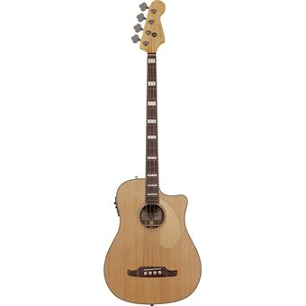 Fender Kingman Bass SCE Natural acoustic-electric bass guitar
