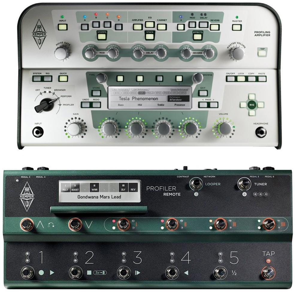 Kemper Profiling Amplifier White Set