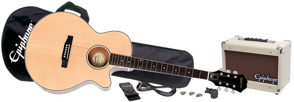 Epiphone PR-4E Acoustic/Electric Player Pack | Keymusic