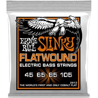 Ernie Ball 2813 Slinky Flatwound Bass Strings 45-105 045 bassnarenset
