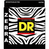 DR ZAE-13 Zebra Medium-Heavy Acoustic-Electric 13-56