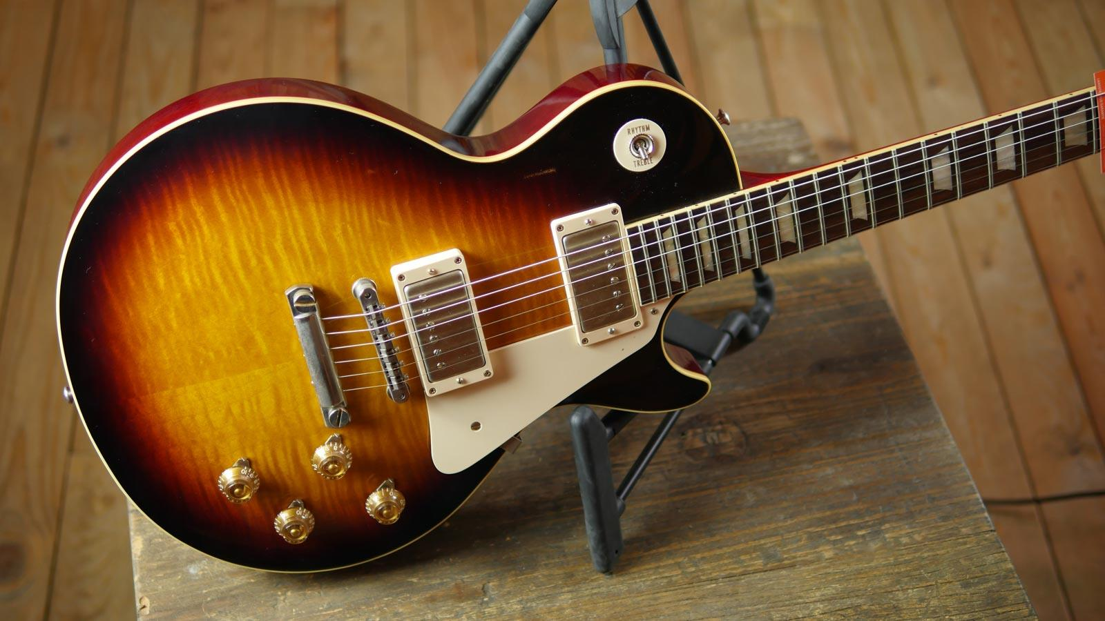 gibson custom shop 1959 les paul reissue vos faded tobacco keymusic. Black Bedroom Furniture Sets. Home Design Ideas
